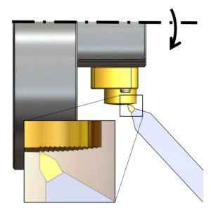 Testing of a Convex Reflective Diffraction Grating